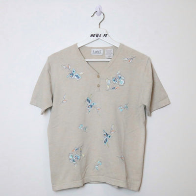 Vintage Flower Embroidered Shirt - M-NEWLIFE Clothing