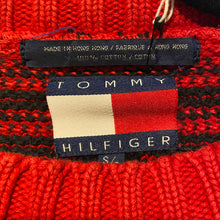 Load image into Gallery viewer, Tommy Hilfiger Knit Tartan Sweater - S