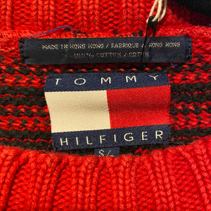 Tommy Hilfiger Knit Tartan Sweater - S