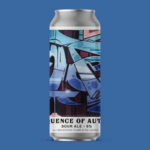 Sequence of Autumn - Sour Ale w/ Macerated Plums and Fig Leaves (Collective Arts collaboration) | 6.0%