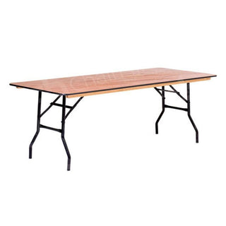 6ft Rectangular Trestle Table Table Rentuu