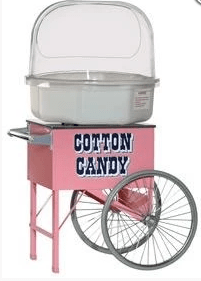 Candy Floss Machine With Cart Candy Floss Machine Rentuu