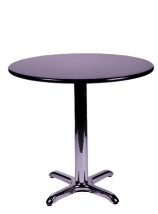 Chelsea Round Table Black Table