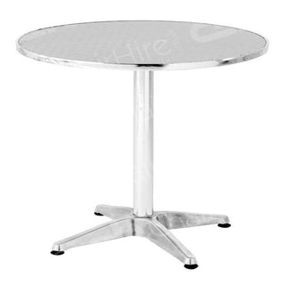 Chrome Bistro Table Table Rentuu