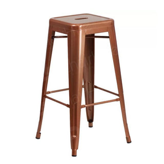 Copper Tolix Style Bar Stool Chair Rentuu