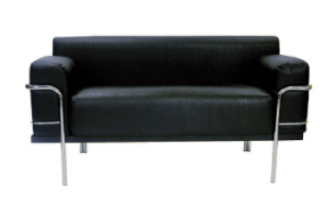 Corbousier Sofa - Black Sofa