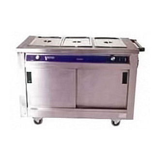 Electric Hot Cupboard Large With Bain Marie 3 Inserts Hot Cupboard Bain Marie Rentuu