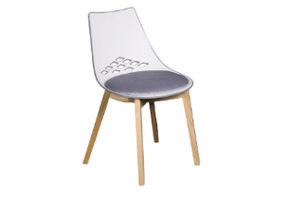Kirby Jam Chair Grey (with seat pad) Chair