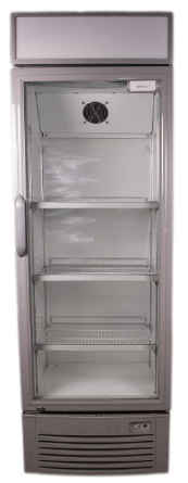 Large Glass Fronted Fridge Fridge