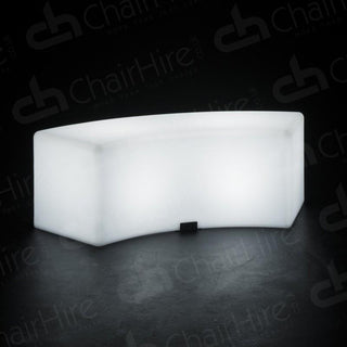 LED Colour-Changing Curved Bench Bucket