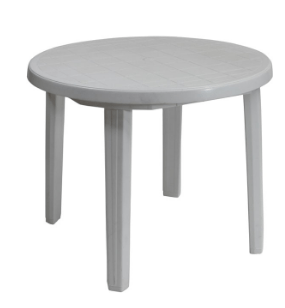 Malibu Plastic Table White Table