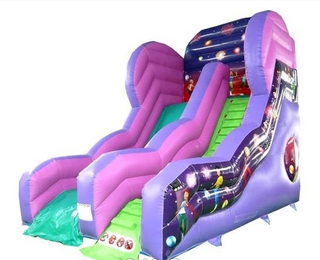 Mega Disco Party Slide Bouncy Castle Rentuu