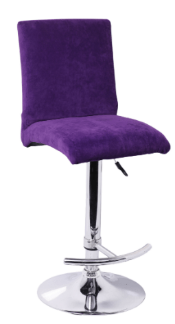 Olivia Stool Purple Stool