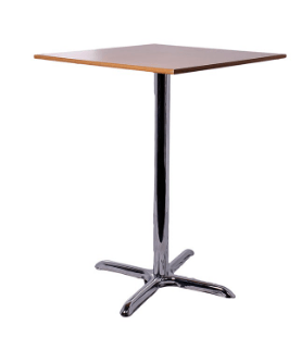 Pisa Square Poseur Table Natural Table