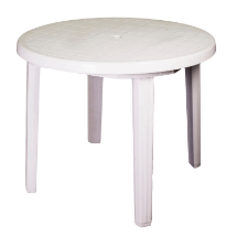 Plastic Patio Table White Table