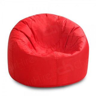Red Bean Bag XL Chair Rentuu
