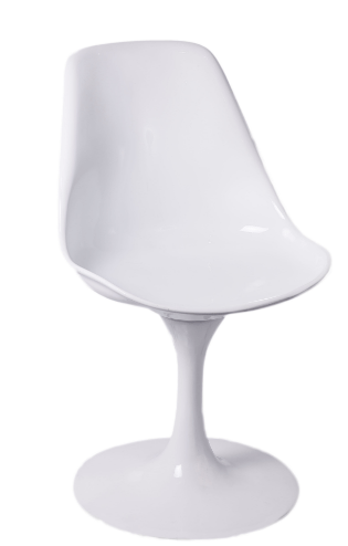 Remo Chair White (without seat pad) Chair