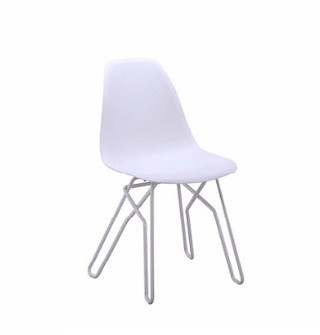 Shelby Chair White Chair