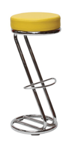 Siegar Stool Yellow Stool