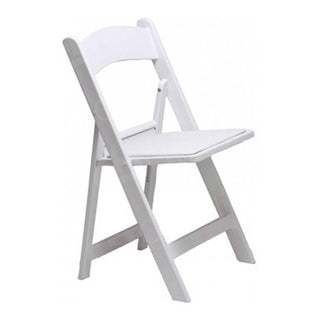 White Folding Resin Chair Chair Rentuu