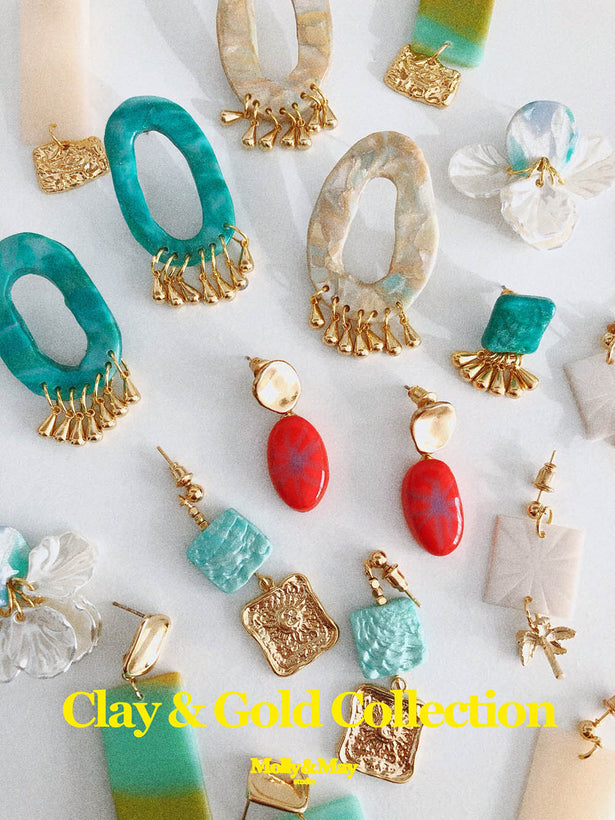 Clay & Gold Plated Collection
