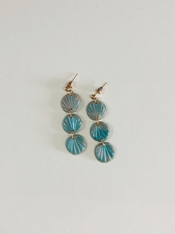 Alma Earrings in Mystic Sea