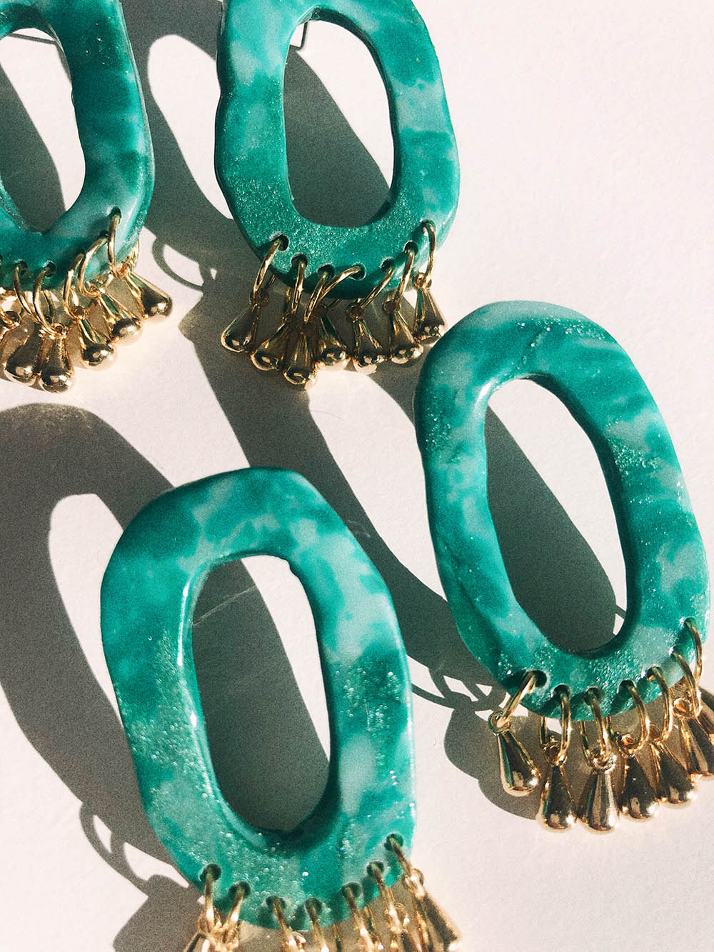 Celine Earrings in Turquoise