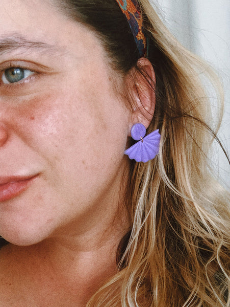 Coco Earrings in Lilac