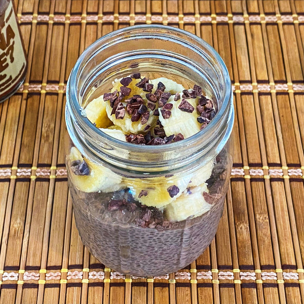 SWEET CHIA PUDDING