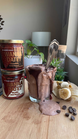 how to use date paste date syrup low calorie dessert recipe