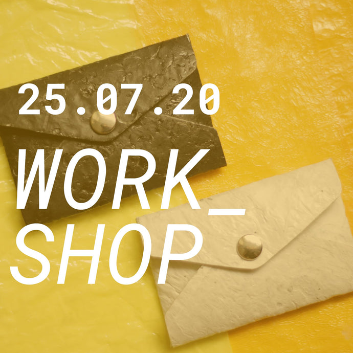 Upcycling Plastic Workshop 25.07.2020
