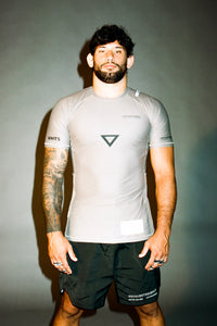 Ranked rash guard 2020 brown  180 GSM  lycra x polyester  Side ventilation system (Mesh fabric)  Matheus Diniz  vhts europe