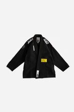 Load image into Gallery viewer, Brazilian Jiu Jitsu Gi G 2020 Jacket 550 GSM pearl weave EVA foam lapel Wide sleeve tape High quality embroidery Pants 9 oz Rip stop cotton fabric Flat rip stop draw string Two belt loop system Triangle knee pad   3 Colors: Blue,White and Black   vhts europe