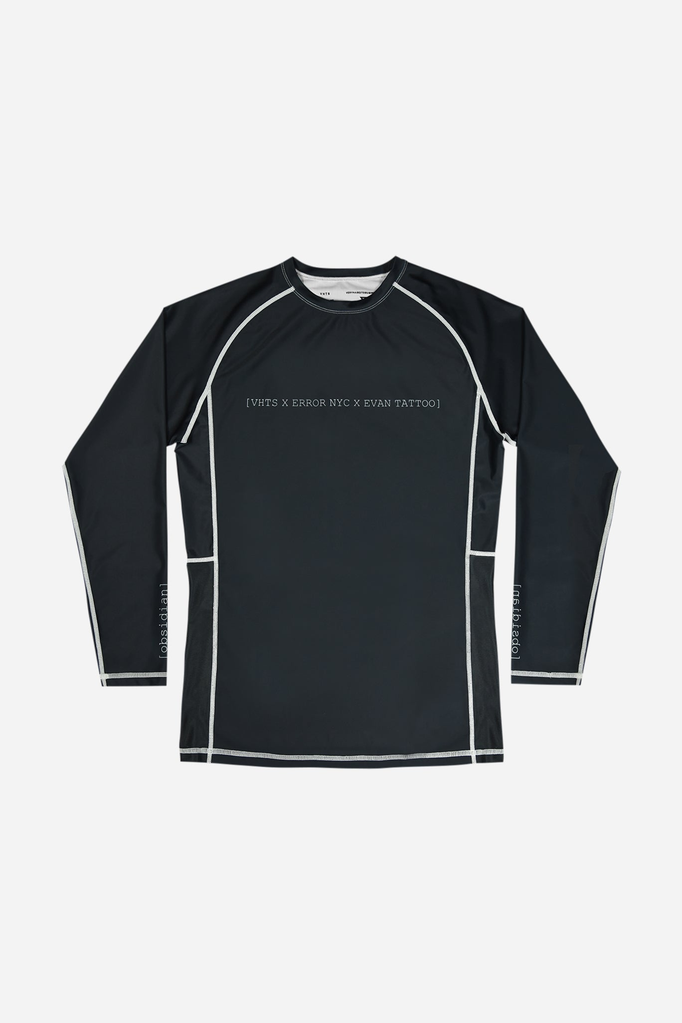 ERROR NYC x Evan TATTOO collaboration long sleeves rash guard