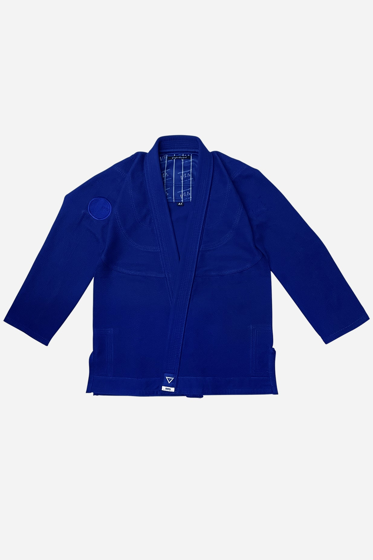 NY Edition 3.0 Blue Front Jacket  450 gsm pearl weave  Pants  10 oz cotton twill    vhts europe