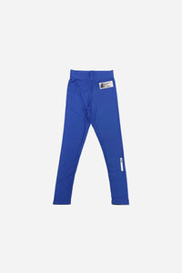 2020 Spats Blue 220 GSM Polyester 80% x lycra 20%  grip rubber band inside of end sleeve  vhts europe