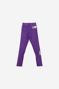 2020 Spats Purple 220 GSM Polyester 80% x lycra 20%  grip rubber band inside of end sleeve  vhts europe