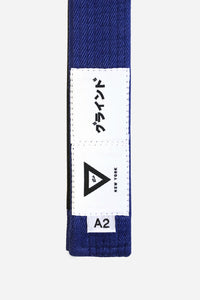 "brazilian jiu jitsu blue HEMP BELT vhtseurope vhtsny 11OZ 100% Hemp Twill Fabric Two Layers Of High-density Cotton Supporting Inner Core Of The Belt 8 Rows Stitching Belt Width: 1-5/8"" Belt Thickness: 1/4"" Grading Bar Length: 5-1/4"""