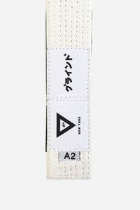 "brazilian jiu jitsu white HEMP BELT vhtseurope vhtsny 11OZ 100% Hemp Twill Fabric Two Layers Of High-density Cotton Supporting Inner Core Of The Belt 8 Rows Stitching Belt Width: 1-5/8"" Belt Thickness: 1/4"" Grading Bar Length: 5-1/4"""