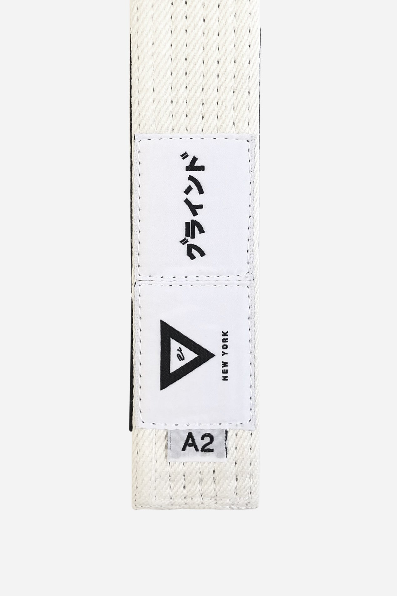 brazilian jiu jitsu white HEMP BELT vhtseurope vhtsny 11OZ 100% Hemp Twill Fabric Two Layers Of High-density Cotton Supporting Inner Core Of The Belt 8 Rows Stitching Belt Width: 1-5/8