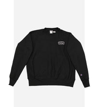 Load image into Gallery viewer, VHTS embroidery logo Champion reverse weave crew neck sweat