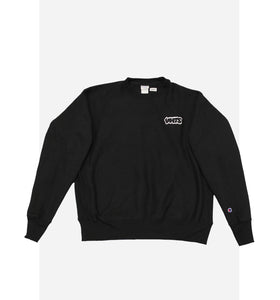 VHTS embroidery logo Champion reverse weave crew neck sweat