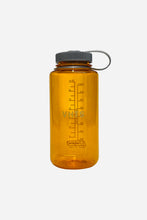 Load image into Gallery viewer, VHTS (Nalgene) WATER BOTTLE 32 OZ Clementine Tritan Wide Mouth 32oz by Nalgene This BPA-free water bottle is virtually indestructible and features a threaded and tethered lid   vhts europe