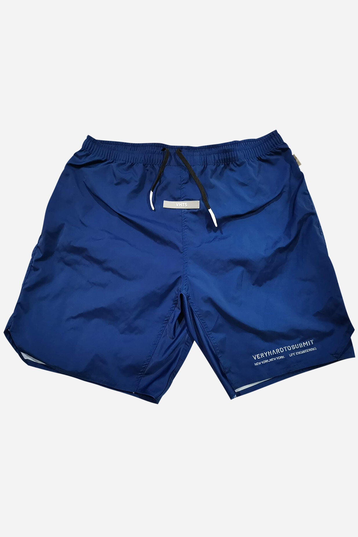 COMBAT SHORTS 2020 NAVY  True to size  Polyester 100%  Rubber label  Sublimation printed logo  plastic dip draw string tip  lycra gusset fabric    vhts europe