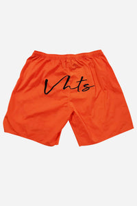 COMBAT SHORTS 2020 ORANGE True to size Polyester 100%  Rubber label  Sublimation printed logo  plastic dip draw string tip  lycra gusset fabric    vhts europe