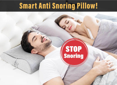 The Comfortable Anti Snoring Pillow