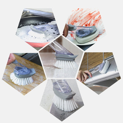 Double Use Kitchen Cleaning Brush