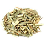 pile of dried lemongrass herbs