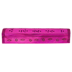 pink wood incense stick box
