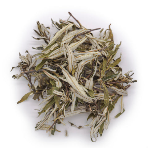 pile of dried and cut yerba sata